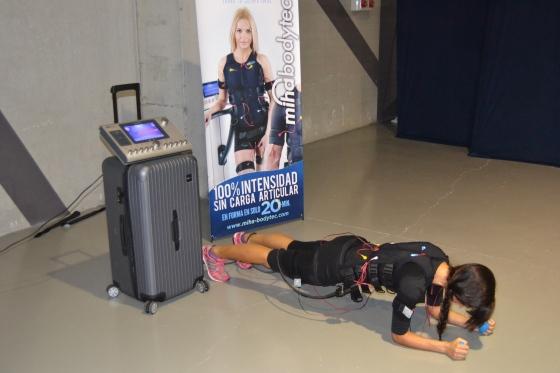 Bodytec refuerza la faja abdominal