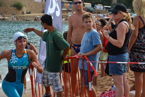 Triatló sprint Tossa de Mar