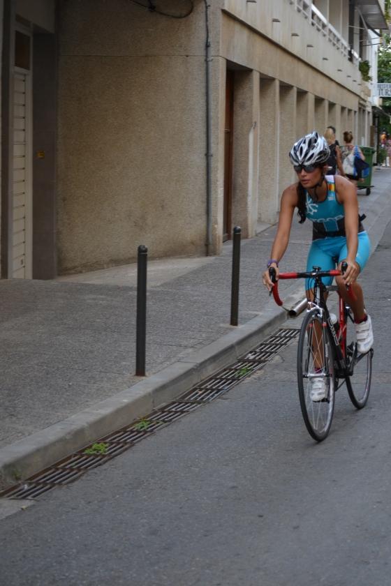 Triatló sprint Tossa de Mar ciclisme