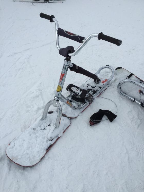 Snow scoot
