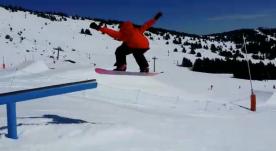 Snow park Font Romeu