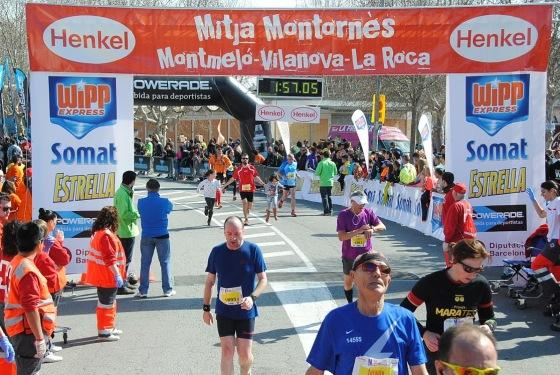 Plan de entrenamiento Media maratón Montornés del Vallés