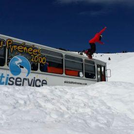 Font Romeu Snow park