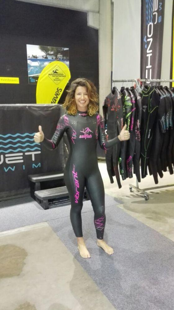 Neopreno de triatlón para mujer Sailfish