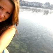 Nadando en el Lago Constanza