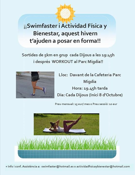 Grupo de runners de Girona actividad fisica y bienestar