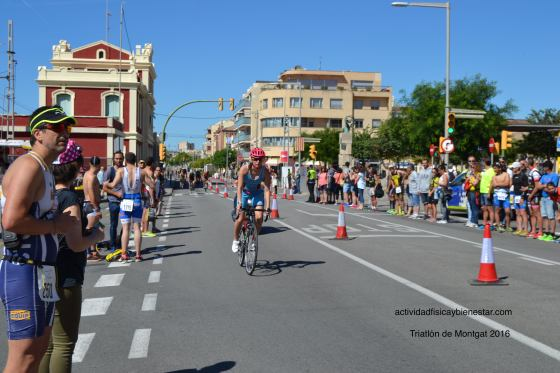 Triatló de Montgat Bike