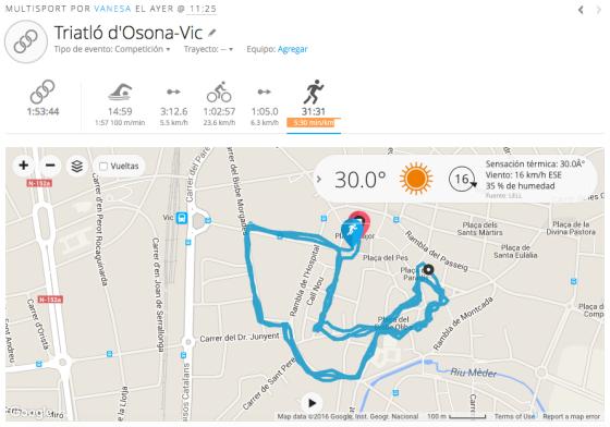 Triatló de Vic